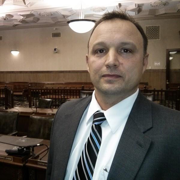 Democratic Legislator Justin Wilcox - PHOTO BY JEREMY MOULE