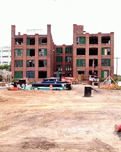 DePaul's Carriage Factory Apartments development is a brownfield redevelopment project. - PHOTO BY JEREMY MOULE