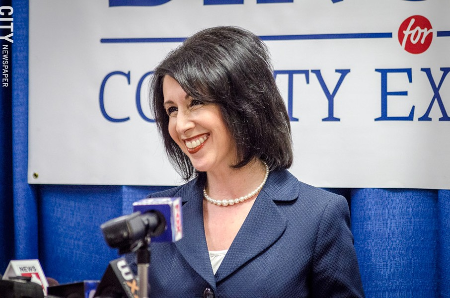 County Clerk Cheryl Dinolfo, a Republican, announced today that she'll run for Monroe County executive. - PHOTO BY MARK CHAMBERLIN
