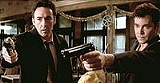 """COLUMBIA PICTURES - Do these men look murderous to you: John Cusack (left) and Ray Liotta in """"Identity."""""""