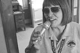 PHOTO BYJUSTIN REYNOLDS - Do what she says: Public Market announcer Joan Hildebrand.
