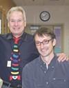 Dr. Harris Gelbard and Stephen Dewhurst.