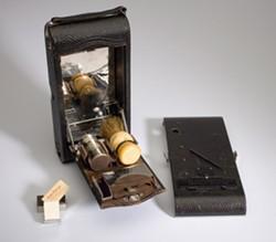 "Eastman Kodak Company, ""No. 3A Autographic Folding Pocket Kodak, Modified by Henry Gaisman, To Be a Shaving Kit for George Eastman"""