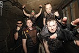 PHOTO BY FRANK DE BLASE - Eddie Nebula is the lead singer for the Thunderdome-ready metal band Dark Nemesis.