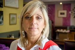 Elena Knapp, owner of Jim's Restaurant. - PHOTO BY MARK CHAMBERLIN