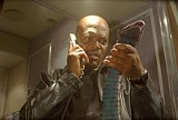 "NEW LINE CINEMA - Fangs for the memories: Samuel L. Jackson in ""Snakes on a Plane."""