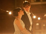 "PHOTO COURTESY FOCUS FEATURES - Felicity Jones and Eddie Redmayne in ""The Theory of Everything."""