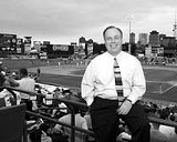 PHOTO BY JEROME DAVIS - Fighting for his field: Rhinos owner Frank DuRoss says his team cant survive at Frontier Field.