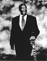 Filling his empty spaces: B.B. King is starting to feel like a whole man again.
