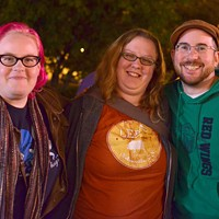 """TriviaCITY at Rochester Fringe First place winners: """"All Hail the Hypnotoad"""""""