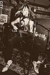 PHOTO BY FRANK DE BLASE - Former Chesterfield Kings frontman Greg Prevost recently released an old-school blues disc that has received attention nationally, as well as in Spain.