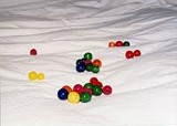 PHOTO BY SCOTT LAIRD - Fun with art: Scott Laird wants you to play with his balls.