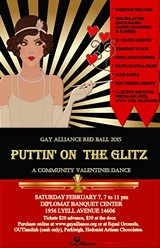 Gay Alliance Red Ball: Puttin' on the Glitz
