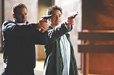 "WARNER BROS. - Good-looking - warhorses: Val Kilmer and Robert Downey Jr. in ""Kiss Kiss, Bang Bang."""