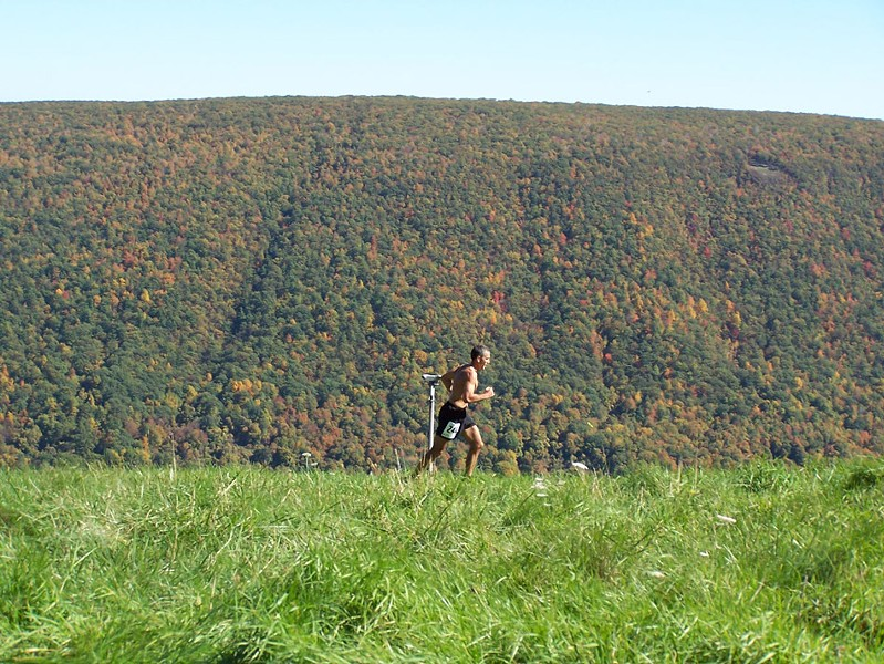 Goose Adventure Racing's Out of Bounds trail half-marathon is held at Bristol Ski Resort in October. The group focuses on off-trail races. - PHOTO PROVIDED