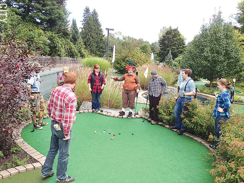 Grab your friends and tour the local minigolf courses around the state. - PHOTO BY MATT DETURCK