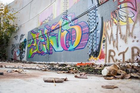 """Graffiti by """"YEWS"""""""
