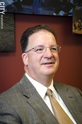 Greater Rochester Enterprise President and CEO Mark Peterson. - PHOTO BY MARK CHAMBERLIN