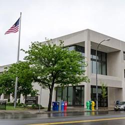Rochester school board offices. - FILE PHOTO