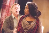"PHOTO BY KEITH WALTERS - Gregory Kunde (Don Jose) and J'nai Bridges (Carmen) will perform in the Finger Lakes Opera presentation of ""Carmen"" on Friday, August 8, and Sunday, August 10. This will be the organization's inaugural production."