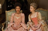 "PHOTO COURTESY FOX SEARCHLIGHT PICTURES - Gugu Mbatha-Raw and Sarah Gadon in ""Belle."""