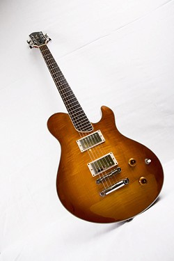 Guitar by Bruton Guitars - PHOTO COURTESY SHAWN GOODWIN