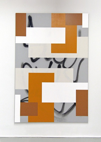 """Hard Edge Painting #124"" by Karlos Carcamo. - PHOTO PROVIDED"