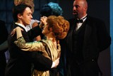 """PHOTO BY EMILY HOWARD. COURTESY PITTSFORD MUSICALS - Henrik Egerman (Colin Pazik) and Countess Charlotte Malcolm (Mary Ann Rutkowski) waltz during the first act of """"A Little Night Music."""" Pittsford Musicals will host the musical Friday, June 27, and Saturday, June 28, at RIT's Panara Theatre."""