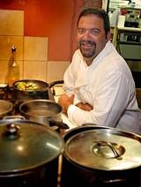 PHOTO BY KURT BROWNELL - Hes got big plans: Basta Pasta owner Greg Gibbardo.