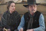 "PHOTO COURTESY ROADSIDE ATTRACTIONS - Hilary Swank and Tommy Lee Jones in ""The Homesman."""