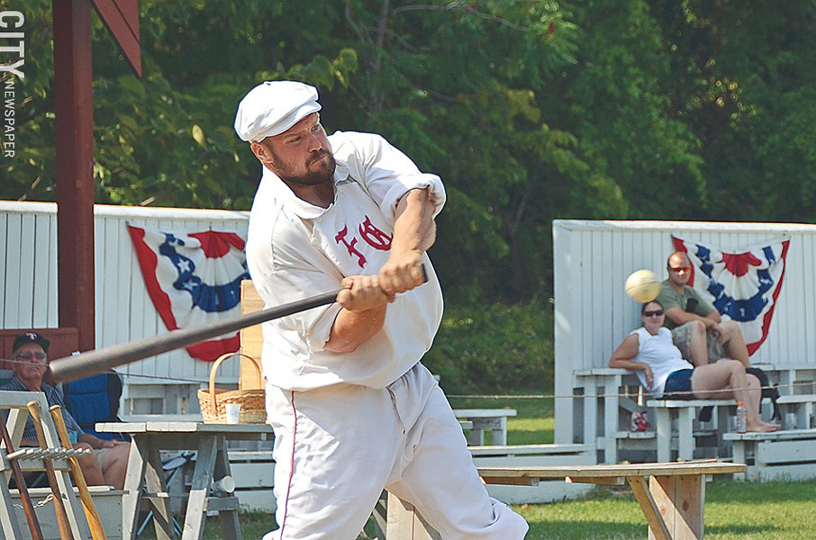 Historic base ball at Genesee Country Village & Museum in Mumford. - FILE PHOTO
