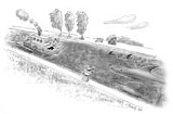 ILLUSTRATION BY JORGE SILVA - Hopes ply the Erie Canal --- and navigate the bureaucracies.