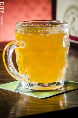Hot Mead at The Old Toad. - PHOTO BY MARK CHAMBERLIN