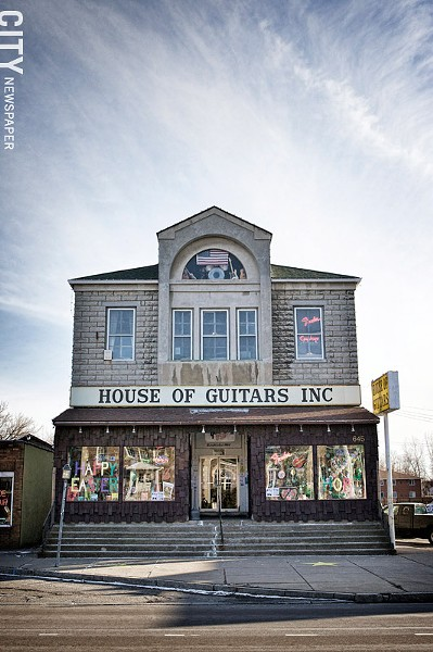 House of Guitars - FILE PHOTO