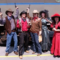 """COMEDY: """"Murder on the Fringe"""" If you want to be more involved in your entertainment, The Mystery Company's Wild West murder-mystery promises plenty of audience participation and laughs. Check mysterycompany.net. (Thursday 9/19 6:30 p.m., Monday 9/23 8:30 p.m., Friday 9/27 6:30 p.m. at RAPA's East End Theatre. $10) PHOTO PROVIDED"""