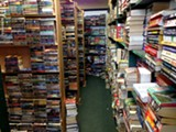 Inside Rick's Recycled Books on Monroe Ave. - PHOTO BY MATT DETURCK