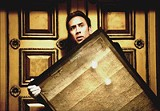 TOUCHSTONE PICTURES - Inventing the pedantic thriller: Nicholas Cage in National Treasure.