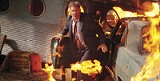 "WARNER BROS. PICTURES - Is this a wall of fire? Harrison Ford in ""Firewall."""