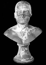 ALBRIGHT-KNOX - Its been eating away at her: Janine Antonis licked self-portrait bust.