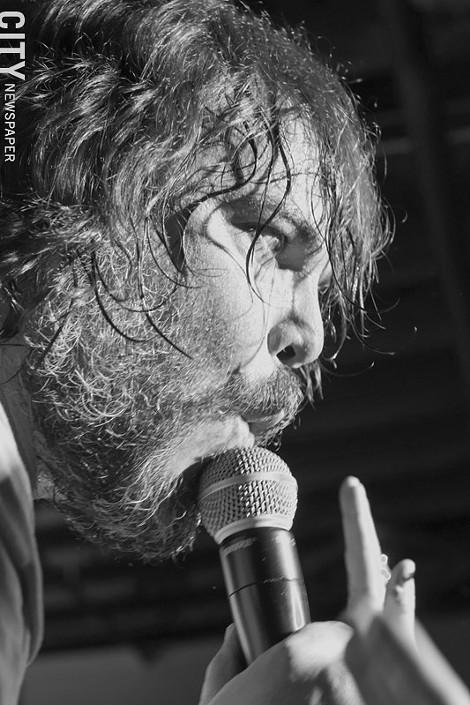 Jack Black performs at SXSW as part of Tenacious D.