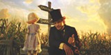 "PHOTO COURTESY WALT DISNEY PICTURES - James Franco and China Girl in ""Oz the Great and Powerful."""