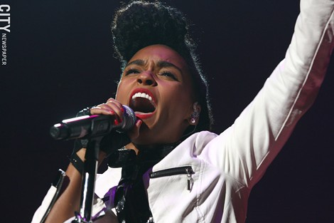 Janelle Monae performed at Kodak Hall at Eastman Theatre. - PHOTO BY FRANK DE BLASE