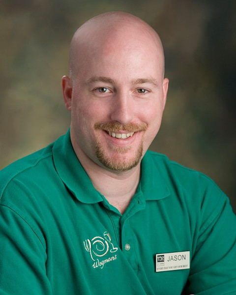 Jason Wadsworth, sustainability coordinator for Wegmans. - PHOTO PROVIDED