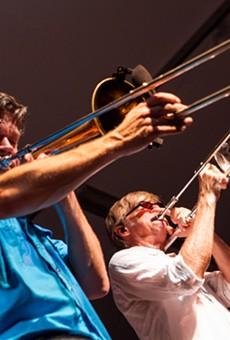 Jazz Fest 2014, Day 5: Photos of Bonerama at the Big Tent