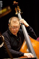 PHOTO BY JOHN MELOY - Jazz legend Chuck Israels is one of the nearly 1000 bass players who will come to Rochester next week as part of the International Society of Bassists Conference.