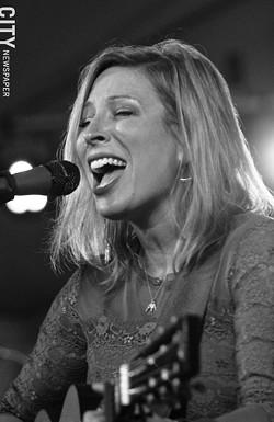 Jeanne Jolly performed at Abilene. - PHOTO BY FRANK DE BLASE