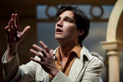 Jeff Irving as Fabrizio Naccarelli in The Light in the Piazza. PHOTO BY EMILY COOPER