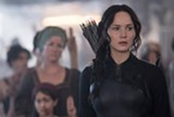 "PHOTO COURTESY LIONSGATE - Jennifer Lawrence in ""The Hunger Games: Mockingjay – Part 1."""