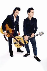 Jon Spencer (left) and Matt Verta - Ray headline the Bug Jar Summer Music Fest Saturday at Highland Bowl.