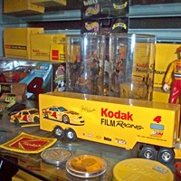 Local Memorabilia Kodak memorabilia collected by Eric Kunsman of Booksmart Studio. PHOTO BY KATHERINE STATHIS